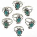 Kingman Turquoise Rings 27684