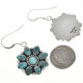 Navajo Traditional Turquoise Earrings 29085