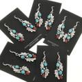 Native American Western Turquoise Earrings 25869