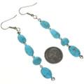 Natural Kingman Turquoise Earrings 29028