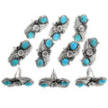 Natural Turquoise Ladies Rings 26996