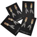 Native American Gemstone Earrings 29458