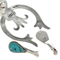 Southwest Sterling Turquoise Jewelry 29416