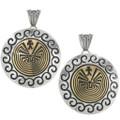 Silver Gold Native American Pendants 29489