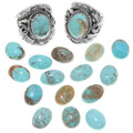 Number 8 Turquoise Rings 25272