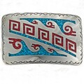 Turquoise Chip Inlay Example 22379