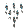 Native American Pendant Necklaces 27115