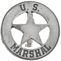 US Marshal Western Silver Badge 29188