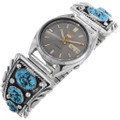 Native American Natural Turquoise Watch 25945