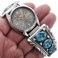 Navajo Sterling Watch Tips 25945