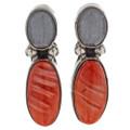 Vintage Southwest Indian Earrings 18419