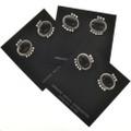 Navajo Gemstone Earrings 28841