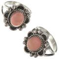 Pink Coral Southwest Ladies Rings 28601