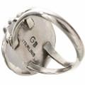 Navajo Sterling Silver Ladies Ring 28748