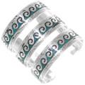 Native American Wave Pattern Bracelet 25738