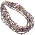 Navajo Gemstone Necklace 28300