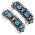 Natural Kingman Turquoise Nugget Buffalo Bracelet 23578