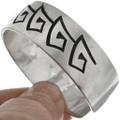 Sterling Native American Cuff Bracelet 10771