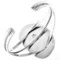 Navajo Turquoise Silver Ladies Bracelet 23902