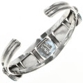 Navajo Crafted Sterling Bracelet 29234