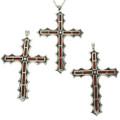 Southwest Inlaid Cross Pendants 28512