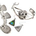 Southwest Gaspeite Jewelry Set 29711