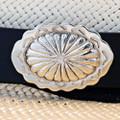 Navajo Concho Leather Hatband 24593