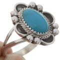 Ladies Turquoise Silver Ring 27370