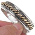 Twist Wire Gold Bracelet 18058