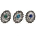Malachite Turquoise Lapis Rings 28903