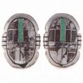 Wild Horse Opal Post Earrings 24668