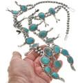 Bisbee Turquoise Squash Blossom 29685