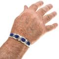 Hand Hammered Sterling Bracelet 29419