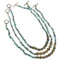 Navajo Beaded Turquoise Choker 29464