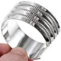 Twist Wire Rope Sterling Bracelet 27488