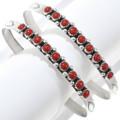 Traditional Zuni Design Cuff Bracelet 21522