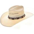 Onyx Sterling Concho Hatband 29089