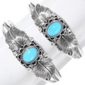 Genuine Turquoise Silver Indian Jewelry 27690