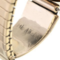 14K Gold Mens Old Pawn Watch 28921