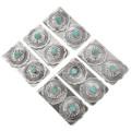 Genuine Turquoise Concho Money Clip 24738