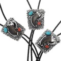 Real Bear Claw Bolo Tie 23419