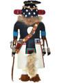 OOAK Hand Carved Zuni Corn Kachina 29733