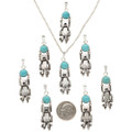 Kachina Charm Size Pendants 29262