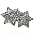 Replica Wells Fargo Agent Silver Badge