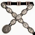 Navajo Rocky Mountain Jeans Concho Belt 23853