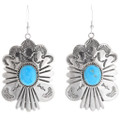 Turquoise French Hook Earrings 28341