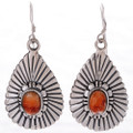 Spiny Oyster Silver Earrings 27989