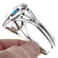 Bear Paw Sterling Cuff Bracelet 14859