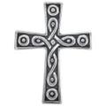 Sterling Silver Celtic Cross Charm 35426