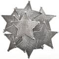 Western Silver Star Badge 28995